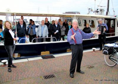 Optreden bij de Zuidwal voor de fam. Ettema 13 mei 2017