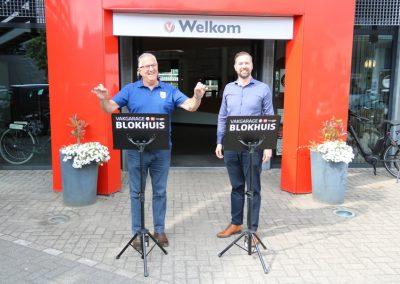 Nieuwe muzieklessenaars van garage Blokhuis